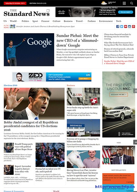 Standard-News-WordPress-Theme