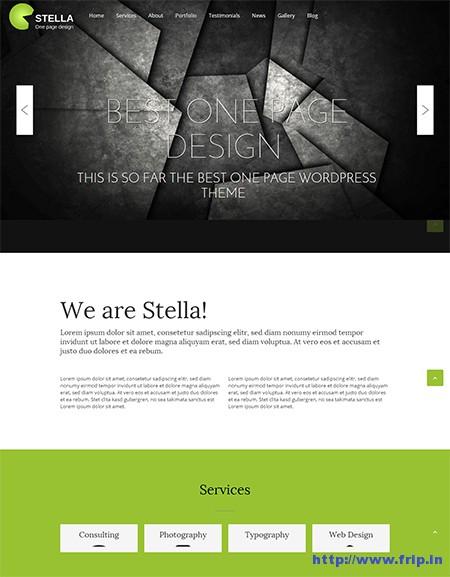 Stella-One-Page-WordPress-Theme