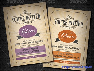 Vintage-Invitation-Card