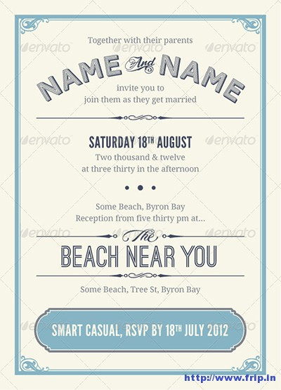 Vintage-Wedding-Invitations-&-RSVP