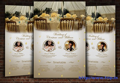 Wedding-Flyer-Template