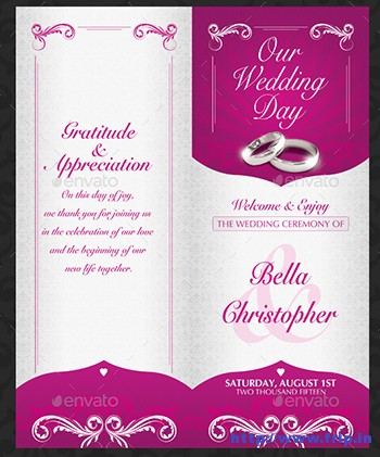 Wedding-Invitation-Template-Set