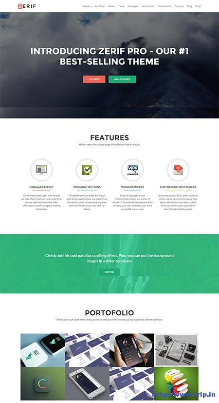 Zerif-Pro-One-Page-Business-WordPress-Theme