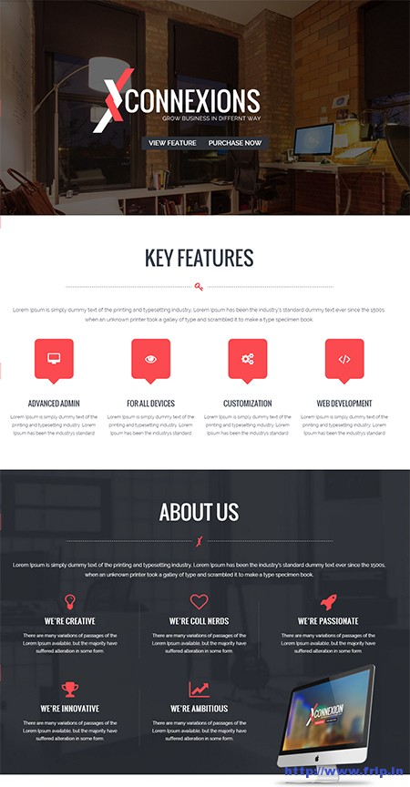 connextions-corporate-one-page-wordpress-theme