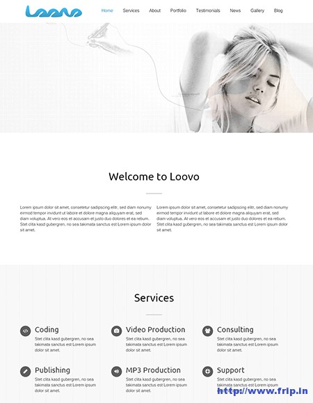 loovo-one-page-wordpress-theme