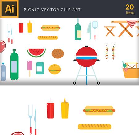 picnic-vector-clip-arts