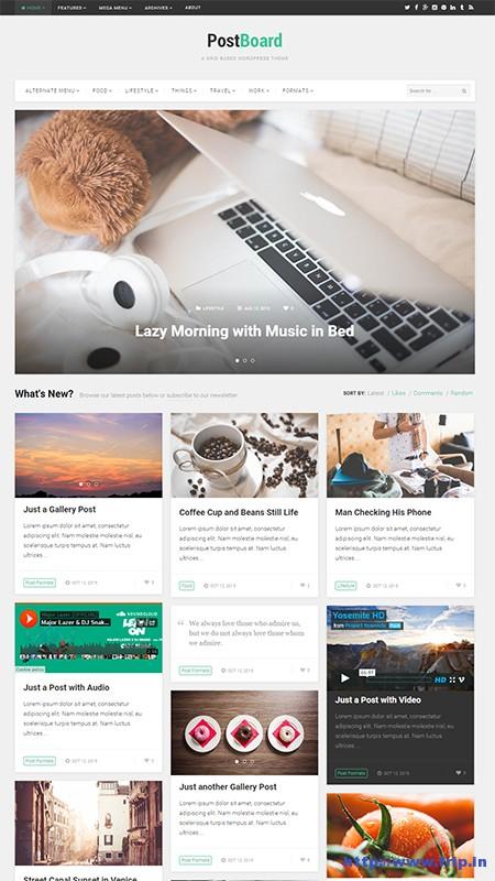 post-board-wordpress-theme