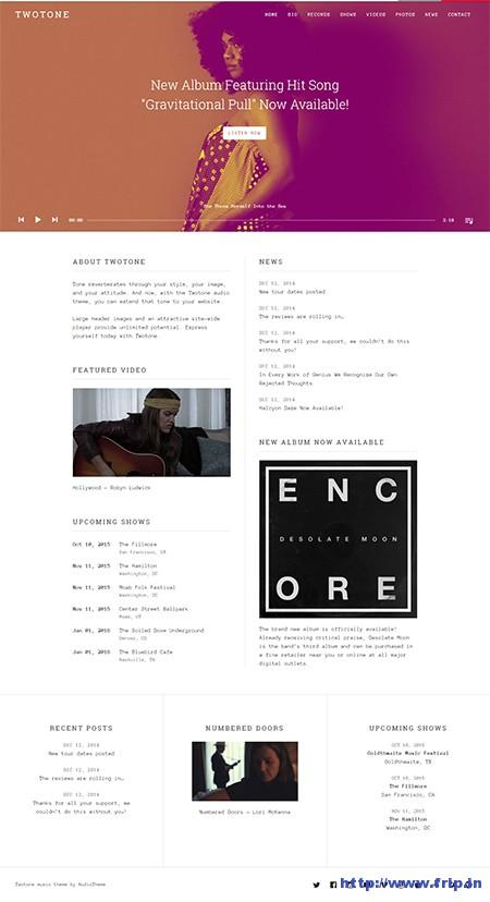 two-tone-wordpress-theme