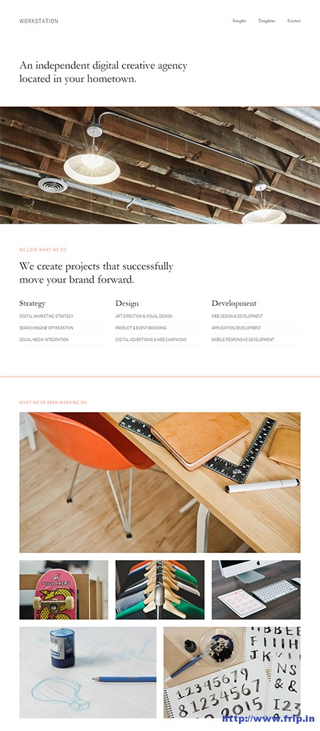 workstation-wordpress-theme