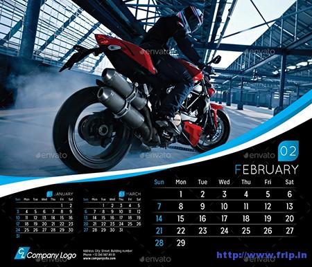 2016-Desk-Calendar-Template