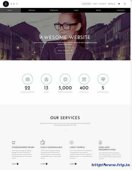 Adv-Multipurpose-One-Page-WordPress-Theme