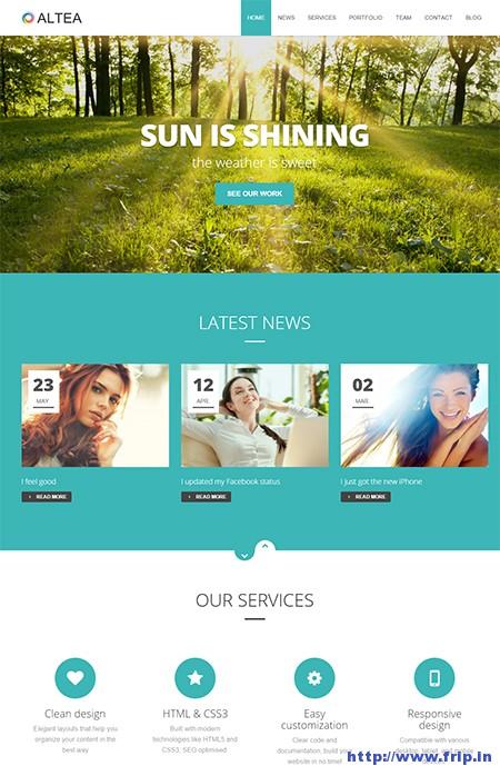 Altea-One-Page-WordPress-Theme