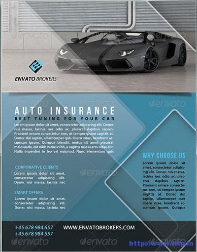 Auto-Insurance-Flyer-Template