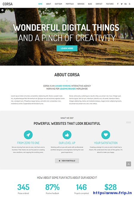 Corsa-Creative-One-Page-WordPress-Theme