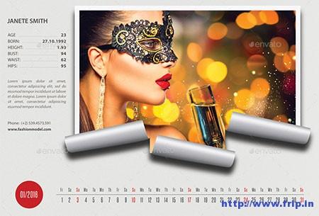 Creative-Desk-Calendar-2016-V13