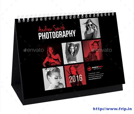Creative-Desk-Calendar-2016-V15