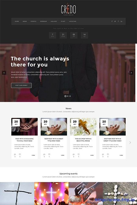 Credo-Church-WordPress-Theme