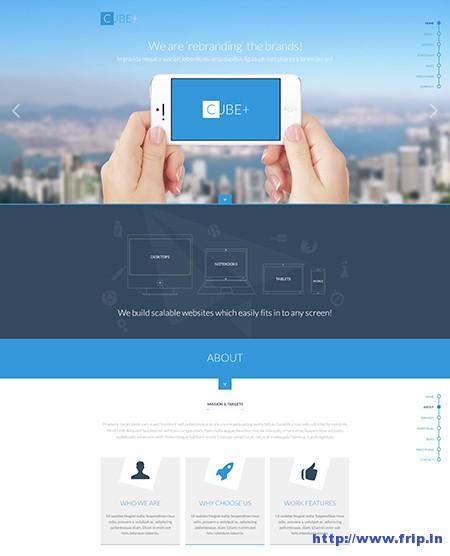Cube+-Multipurpose-One-Page-WordPress-Theme