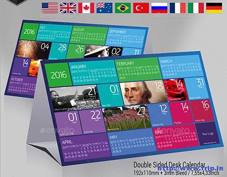 Desk-Calendar-2016-–-Metro