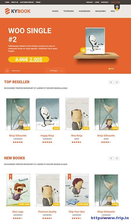 KyBook-eCommerce-WordPress-Theme