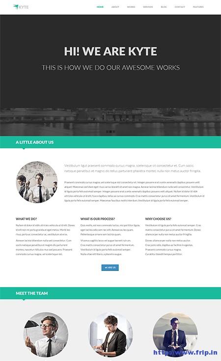 Kyte-One-Page-Responsive-WordPress-Theme