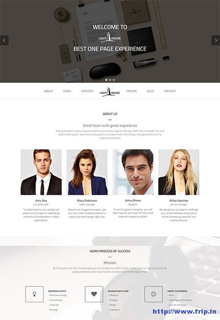 Light-House-One-Page-WordPress-Theme