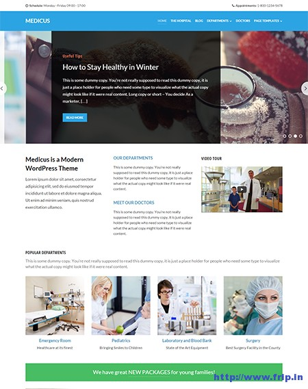 Medicus-Responsive-WordPress-Theme