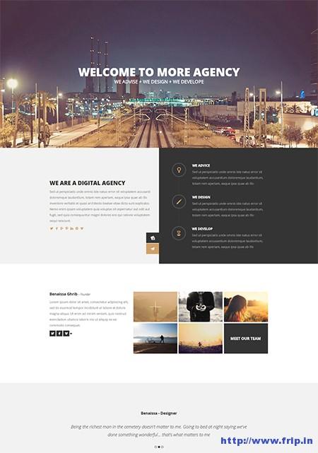 More-Creative-One-Page-WordPress-Theme