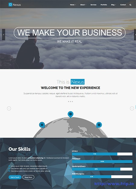 Nexus-One-Page-Business-WordPress-Theme