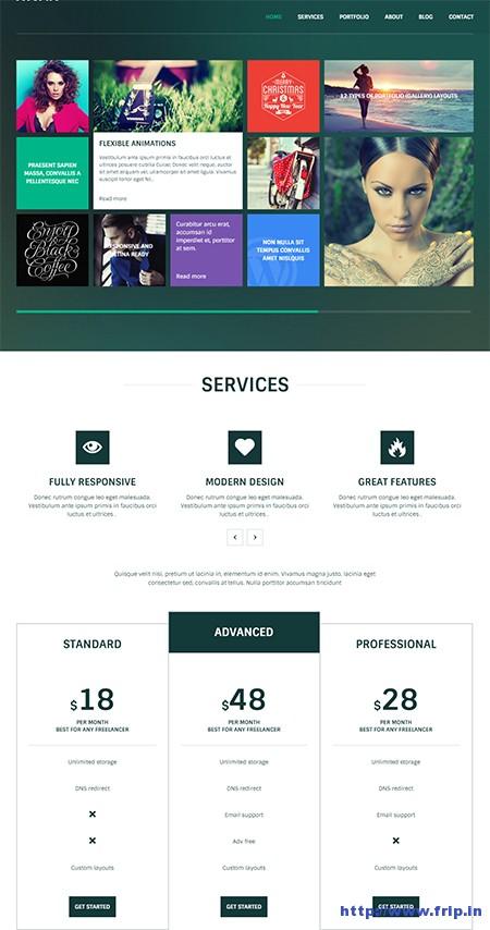 Nivan-One-Page-WordPress-Theme