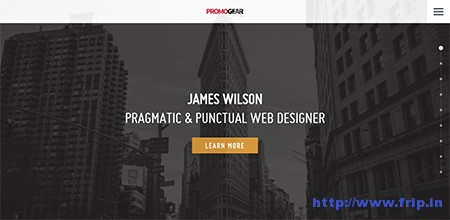PromoGear-One-Page-Multipurpose-Theme
