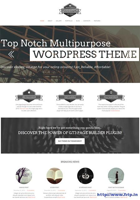 Quidditech-One-Page-WordPress-Theme