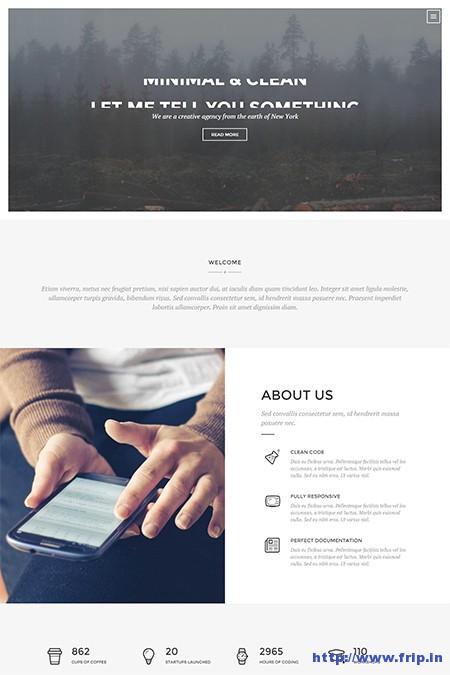 Race-One-Page-WordPress-Theme