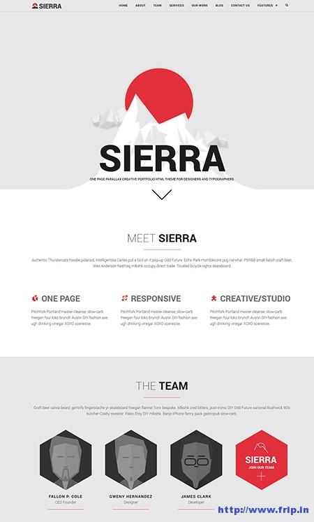 Sierra-One-Page-WordPress-Theme