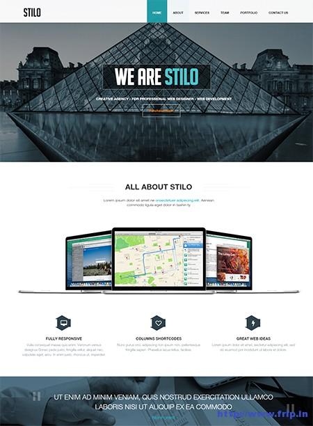 Stilo-One-Page-WordPress-Theme