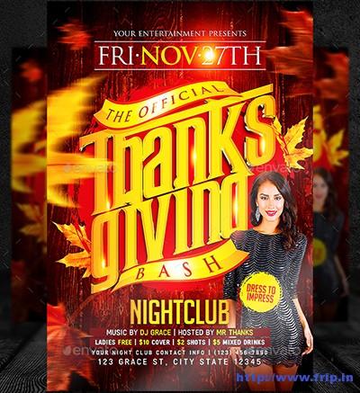 Thanksgiving-Bash-Flyer