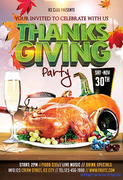 Thanksgiving-Flyer-&-FB-Cover