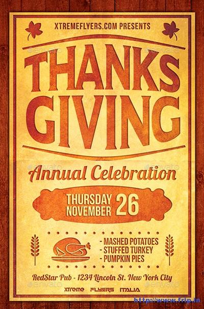 Thanksgiving-Flyers