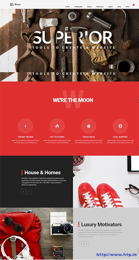 The-Moon-One-Page-Multi-–-Purpose-Theme