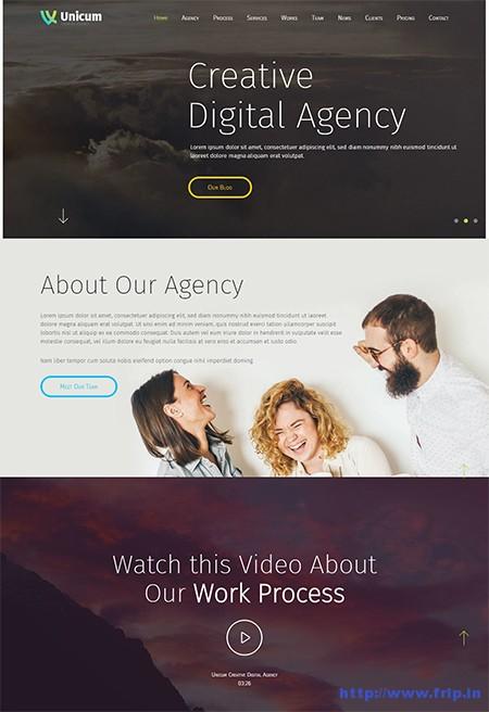 Unicum-One-Page-WordPress-Themes