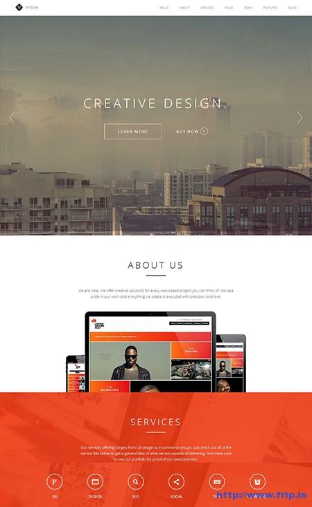 Visia-One-Page-Retina-WordPress-Theme