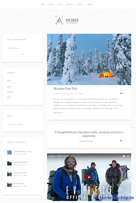 Xplorer-WordPress-Portfolio-Theme