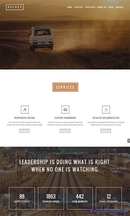 velvet-one-page-wordpress-theme