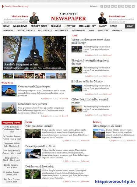 Advanced-Newspaper-WordPress-Theme