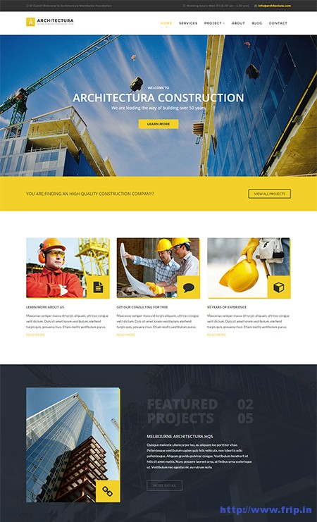 Architectura-Construction-&-Building-Template