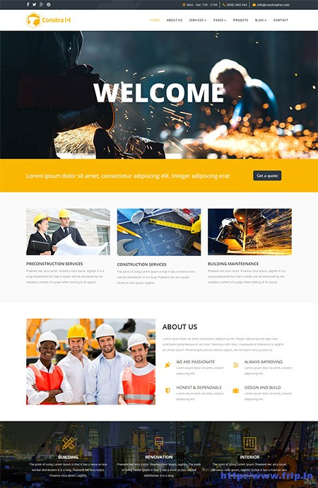 Constra-Construction-&-Building-Template