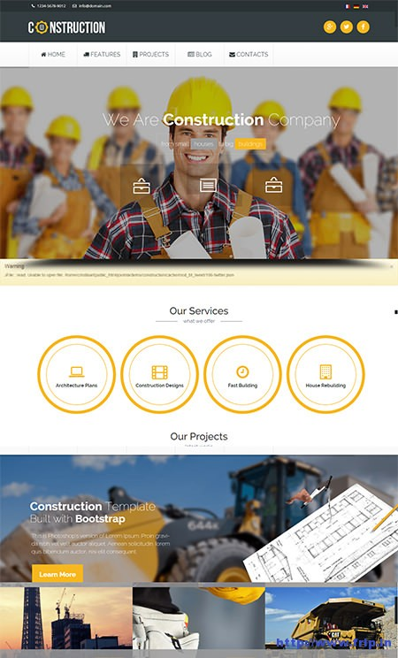 Construction-Industrial-Joomla-Template