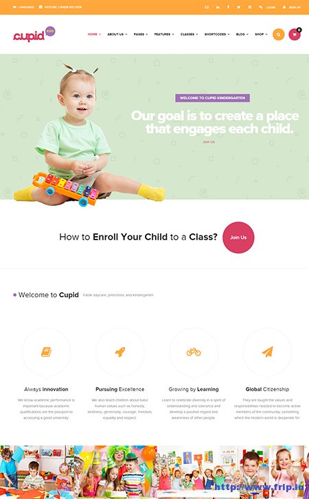 Cupid-Kindergarten-WordPress-Theme