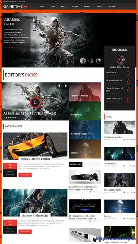 Game-Time-Magazine-WordPress-Theme