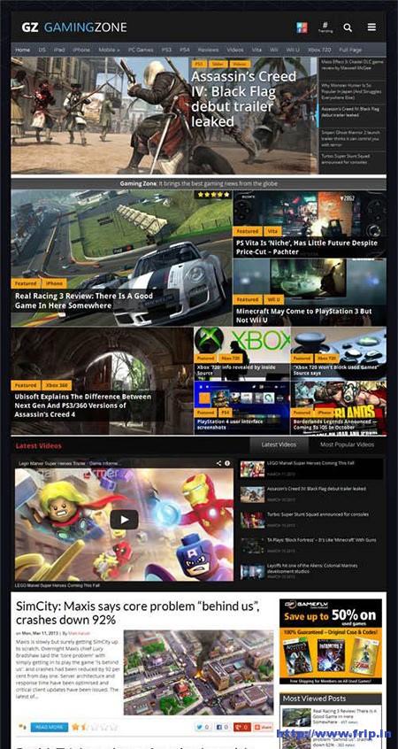Gaming-Zone-Magazine-WordPress-Theme